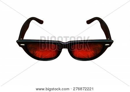 Glasses. Spectacles. Sunglasses. On White Background. Glass, Isolated, Sunglasses, White, Eyeglasses