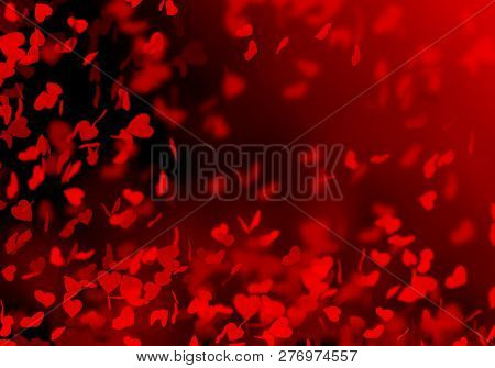 Abstract, Art,background, Lovely, Black, Border, Bright, Color, Day, Unfocused, Design, Falling Hear