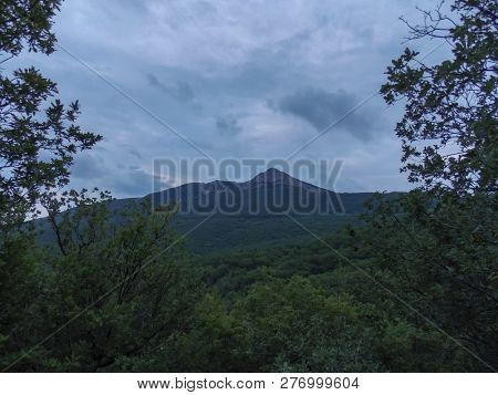 Mountain Landscape. In Anticipation Of The Storm.