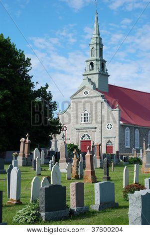 Old Church And Cemetery