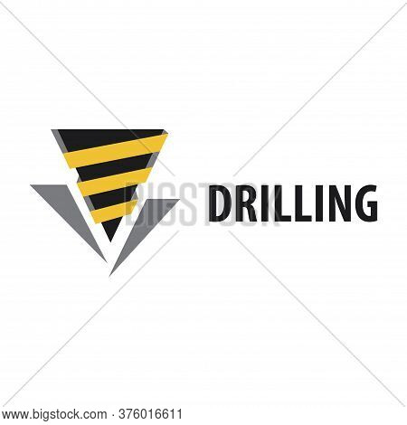 Vector Logo Of Drilling And Geodetic Works