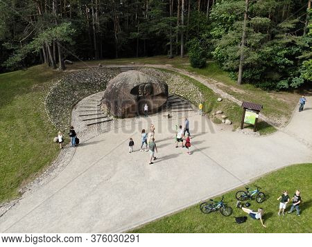 Anyksciai, Lithuania - July 12, 2020: Puntukas The Second-larges