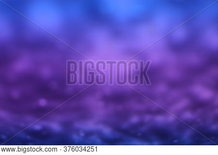 Out Of Focus Purplish Blue Abstract Background