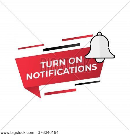 Notification bell button icon for social media. Bell icon. Bell vector. Bell icon vector. Bell illustration. Notification Bell button. Bell symbol. Bell sign. Bell icon design. Bell vector icon flat design for web icons, symbol, banner, app, UI