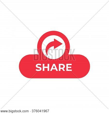 Share. Share icon. Share vector. Share icon vector. Share illustration. Share logo template. Share button. Share symbol. Share sign. Share icon design. Share vector icon flat design for web icons, logo, symbol, banner, app, UI.