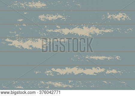 Turquoise Grunge Background. Rustic Ice Texture. Abstract Worn Effect. Grungy Weathered Backdrop. Ve