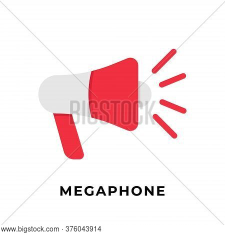 Megaphone. Megaphone icon. Megaphone vector. Megaphone icon vector. Megaphone illustration. Megaphone logo template. Megaphone button. Megaphone symbol. Megaphone sign. Megaphone vector icon design for web icons, logo, symbol, banner, app, UI.