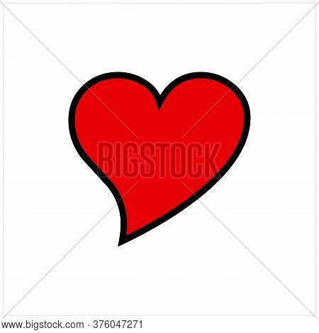 Love Icon. Love Icon Isolated On White Background. Love Icon Eps. Love Icon Image. Love Icon Logo. L
