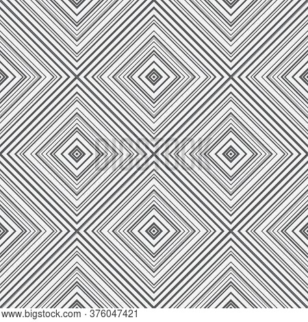 Seamless Geometric Vector Pattern. Abstract Background With Repeating Geometrical Shapes. Gradation