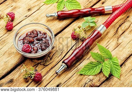 Oriental Hookah With Berry Jam.