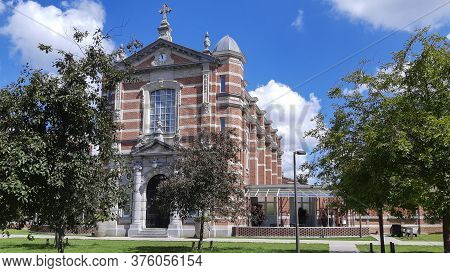 Former Chapel Of The Military Hospital In Groen Kwartier, Now Home Of Famous Restaurant The Jane And