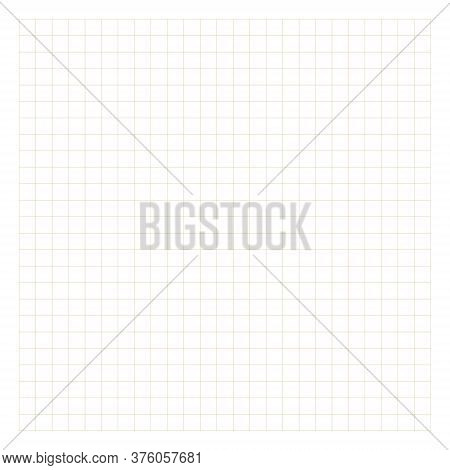 Notebook Squared Paper Sheet. Groups Of Three Lines. Exercise Book Page. Perfect For Planner, Notebo