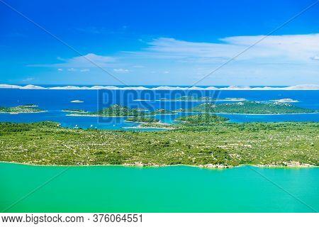 Croatia, Spectacular Landscape, Panoramic View Of Ornithological Nature Park Vrana Lake (vransko Jez