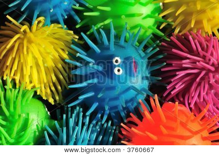 Squishy Puffer Fish Toys