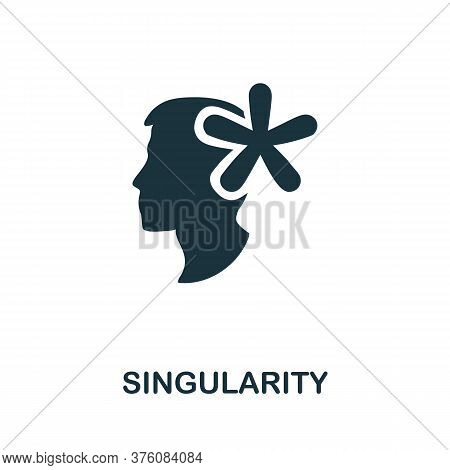 Singularity Icon. Simple Element From Business Management Collection. Creative Singularity Icon For