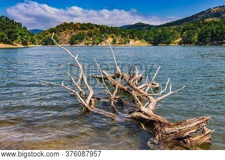 Bor Lake, An Artificial Lake In Eastern Serbia Near The City Of Bor
