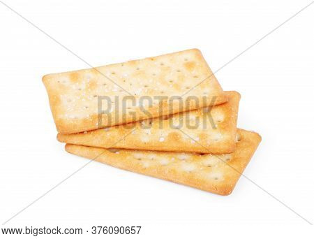 Cracker Isolated On White Background Homemade, Cheese, Meal, Grain, Fattening, Nutrition,