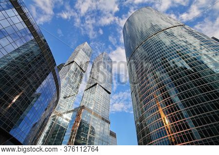 Skyscrapers Of Moscow-city 2
