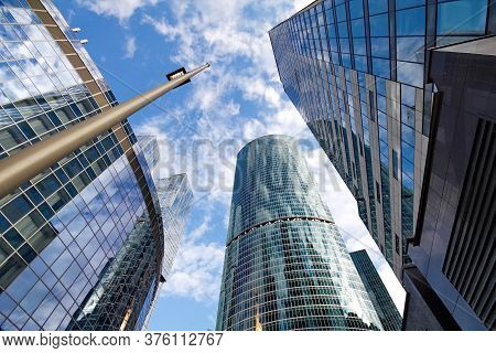 Skyscrapers Of Moscow-city 4