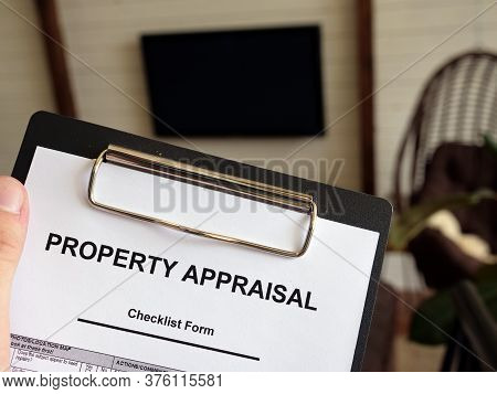 Man Property Appraisal Checklist Form. How Much Is Your Home Worth.