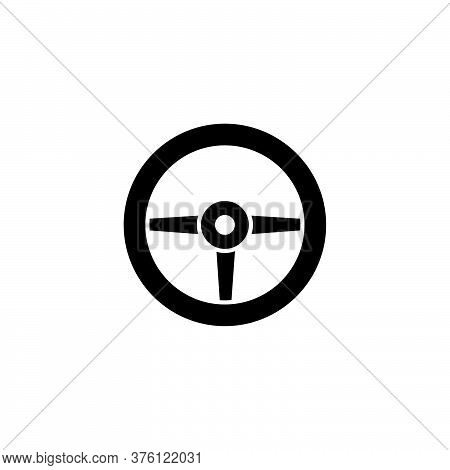 Illustration Vector Graphic Of Steering Wheel Car Icon