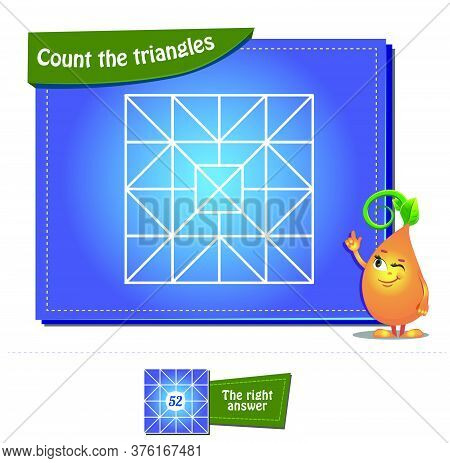 Count The Triangles 28 Brainteaser