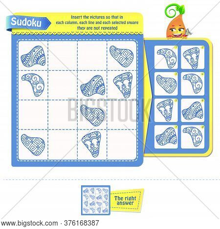 Sudoku  Iq Adults 8 Zentangle