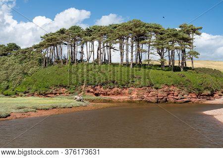 Landscape Photo Of The Otter Estuary In Budleigh Salterton In Devon