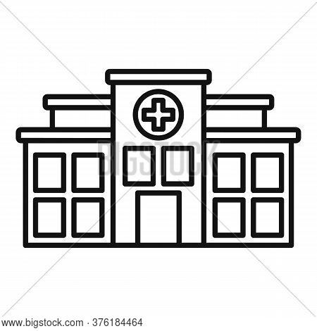 Mental Disorder Clinic Icon. Outline Mental Disorder Clinic Vector Icon For Web Design Isolated On W