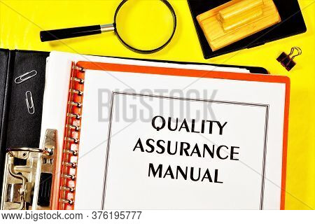 Quality Assurance Guide-label The Text On The Form In The Registrar's Folder. Document For Determini