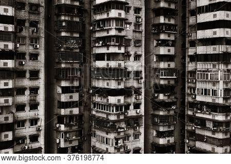 Urban residential buildings in Chongqing China