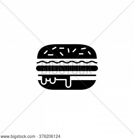 Illustration Vector Graphic Of Burger Icon Template