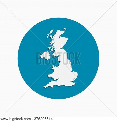 Sign Icon Map Country United Kingdom, Uk, Britain
