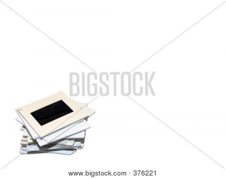 Slide Stack Title On White