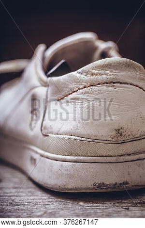 Close Up Shot Of Elegant Sports Shoe.