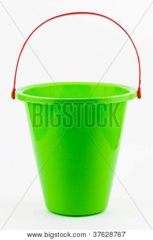 Green Beach Bucket