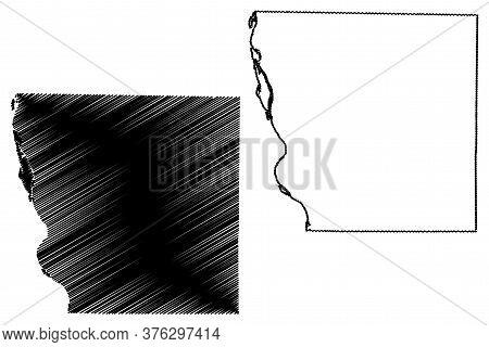 Adams County, Illinois (u.s. County, United States Of America, Usa, U.s., Us) Map Vector Illustratio