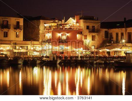 Evening In Crete