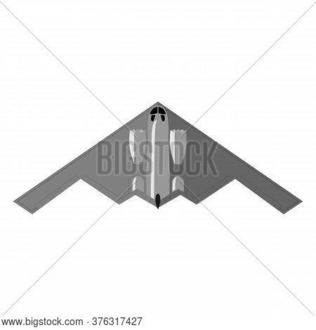 Stealth Bomber. Aircraft Military Attack Avionics Anti Radar