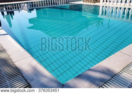 Swimming Pool Design Modern Architecture Of Luxury Holiday Villa. Relax Near Exotic Swimming Pool Wi