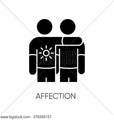 Affection Black Glyph Icon