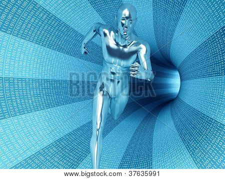 Bionic man.