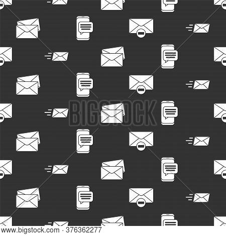 Set Delete Envelope, Express Envelope, Envelope And Chat Messages Notification On Phone On Seamless