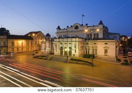 Sofia center, National Assembly