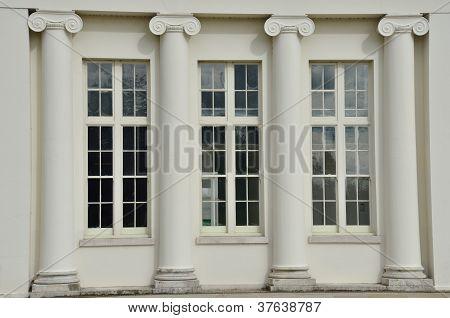 Hylands Park Pillar Detail