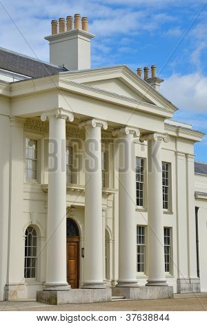 Hylands House Main entrance