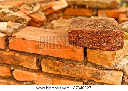 The Old Brickwork Wall