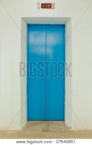 Blue Elevator