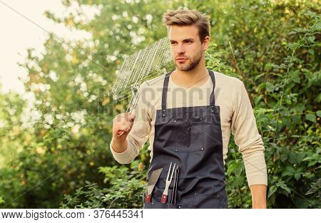 Party On. Tools For Roasting Meat Outdoors. Picnic Cooking Utensils. Outdoor Party Weekend. Family W