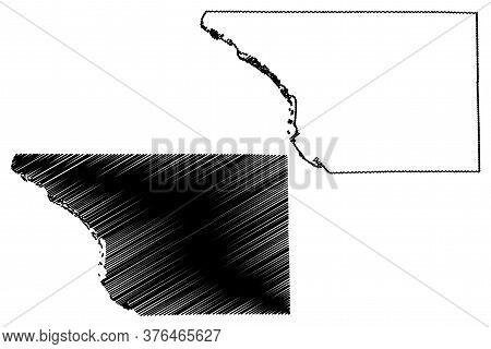 Jo Daviess County, Illinois (u.s. County, United States Of America, Usa, U.s., Us) Map Vector Illust
